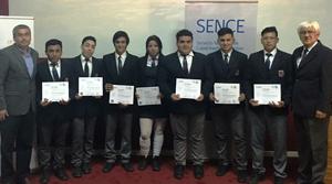 Alumnos del Liceo Industrial de Antofagasta aprenden un oficio por medio de las Becas Laborales Sence